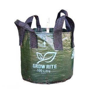 Growrite Heavy Duty Woven Plant Bags - 100L