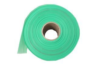 VINEGUARD Sleeve 100um Green Perforated at 450mm - 270m Roll (600 sleeves per roll)