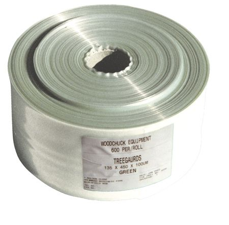 VINEGUARD Sleeve White 200um, Perforated at 450mm - 270m Roll (600 sleeves per roll)