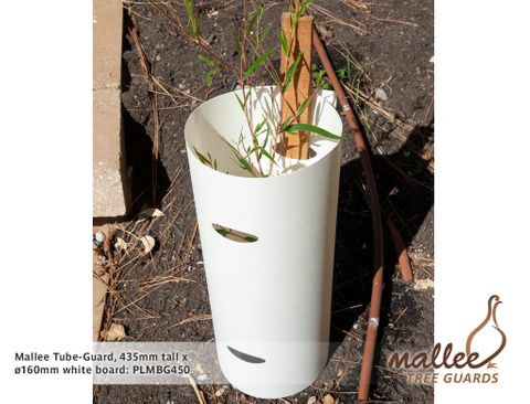 Mallee BioGuard, 435mm tall by 160mmØ - White Board
