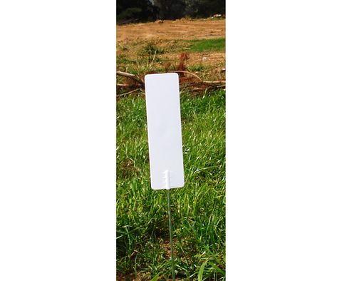 Tegra-Tag Pin Marker - White