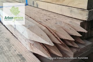 Hardwood Stakes 25 x 25 x 900mm Long