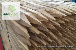 Pointed Hardwood Stakes 50x50x2400 Each