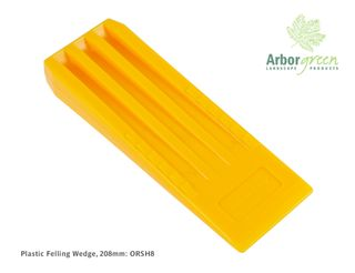 Plastic Felling Wedge 208mm