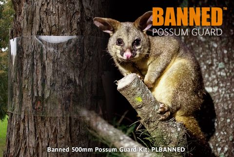 Banned 500mm Possum Guard, 20m Kit, 20 joiners