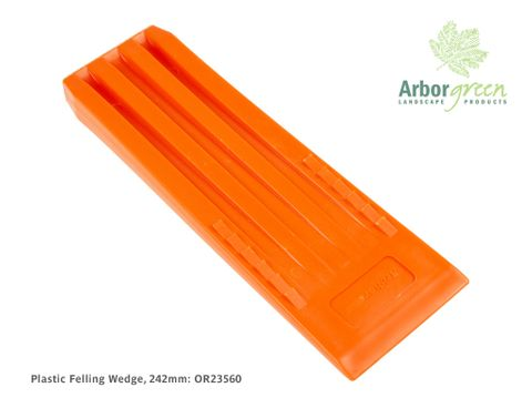 Plastic Felling Wedge 242mm