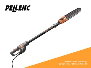 PELLENC Selion P130 Electronic Chainsaw C/Fibre Pole 1.3m ** Old Stock - One Only **