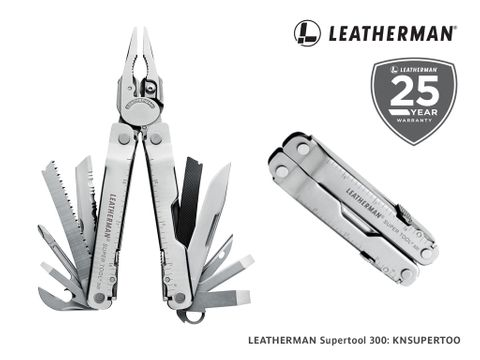 Leatherman Supertool 300 with Leather Sheath