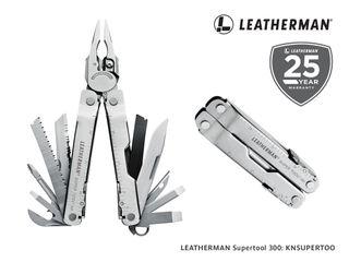 Leatherman Supertool 300 with Leather Sheath