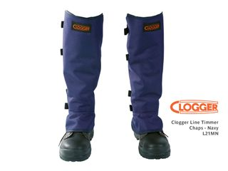 CLOGGER Line Trimmer Chaps - Navy