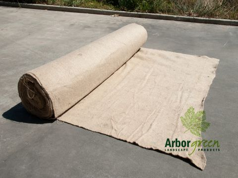 EKO™ Jute Mat, 800gsm - 1.83m x 25m Roll