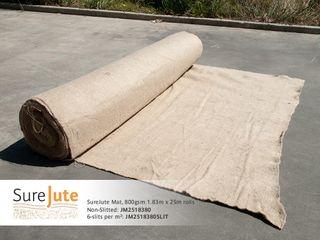 EKO™ Jute Mat, 800gsm, 1.83m x 25m Roll - 6 Slits per m2