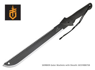 GERBER Gator Machete with Sheath