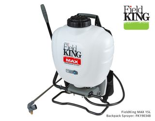 FieldKing Max 15L Backpack Sprayer