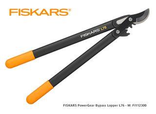 FISKARS PowerGear Bypass Lopper L76 - Medium