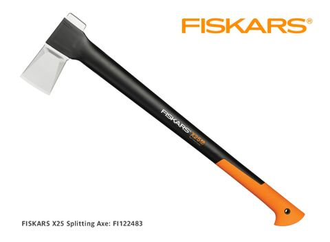 Fiskars X25 Splitting Axe, 725mm 2.4kg (was 122480)
