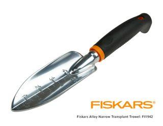 FISKARS Narrow Transplant Trowel Alum.
