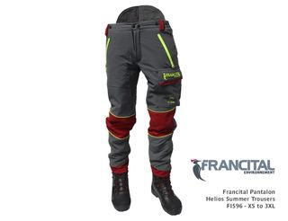 Francital Pantalon Helios Summer Trousers - Extra Large (100-108cm)