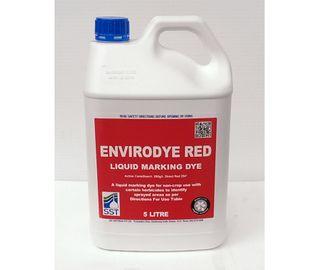 EnviroDye Herbicide Marking Dye, 5 Litre - Red