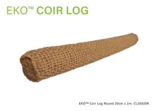 Coir Eko-Log Round 20cm diameter x 2.0m Long