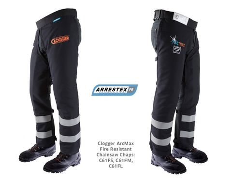 Clogger ArcMax Fire Resistant Chainsaw Chaps
