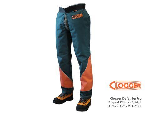 Clogger DefenderPro Zipped Chaps