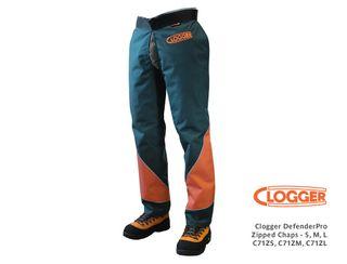 Clogger DefenderPro Zipped Chaps - Large