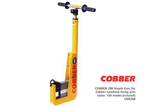 Cobber 200 Staple Gun, for Cobber weedmat fixing pins