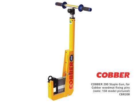 Cobber 200 Staple Gun, for Cobber weedmat fixing pins
