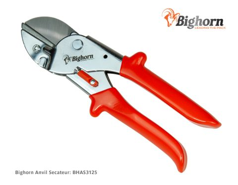 BIGHORN Anvil Secateur (Old Version/Clearance)
