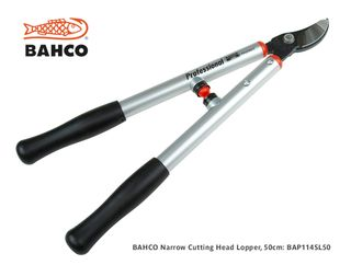 Bahco Bypass Lopper, Narrow Cutting Head - 50cm