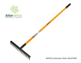 Bahco Landscapers Rake, F/Glass hdl