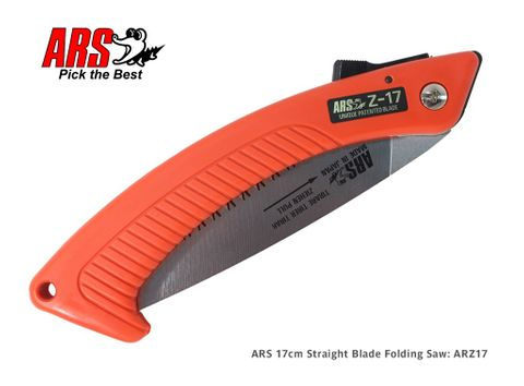 ARS 17cm Straight Blade Folding Saw