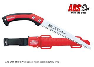 ARS CAM-24PRO Pruning Saw with Sheath 24cm