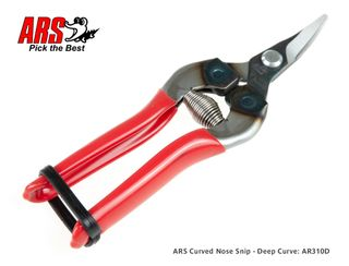 ARS Curved Nose Snip - Deep Curve