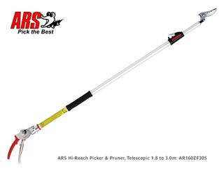 ARS 160ZF Long Reach Mango Picker Cut & Hold Pruner, 1.8-3.0m