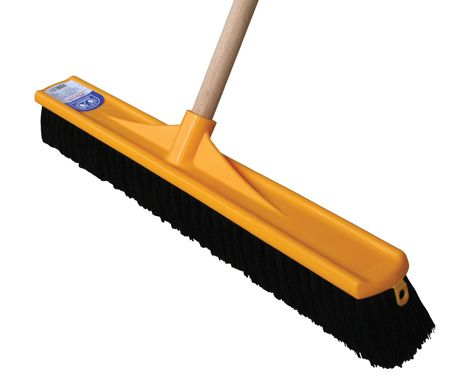 TROJAN Road Broom with 1,500mm Handle