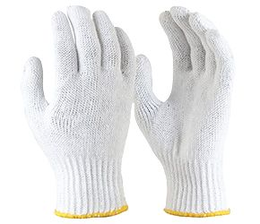 KNITTED Polycotton Glove
