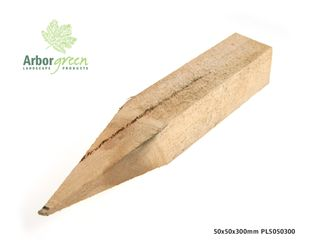 Pointed Hardwood Stakes 50x50x300 Each