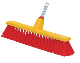 Wolf Street Broom, very stiff, 40cm