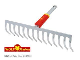 WOLF Soil Rake 35cm