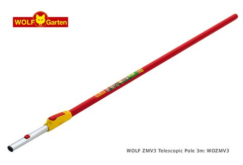 WOLF ZMV3 Telescopic Pole, 3m