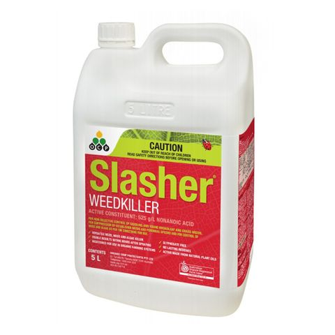 Slasher Pelargonic Acid Herbicide - 5L