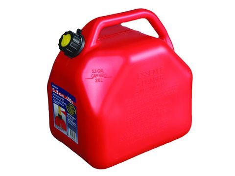 SCEPTER Squat Red Fuel Can 20L