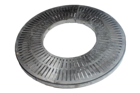 PINNACLE Tree Grate/Grille - Round - Galv    **  Special run-out price  **  (was $907)