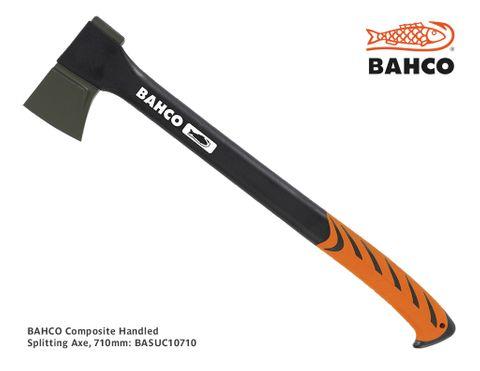 Bahco Composite Handled Splitting Axe, 710mm, 1.55kg