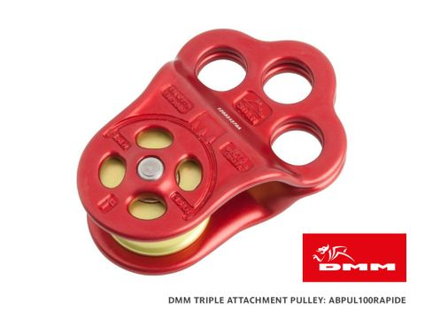 DMM Hitch Climber Rapide Triple Attachment Pulley