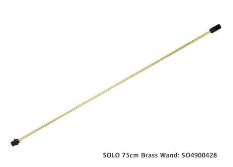 Solo 75cm Brass Wand