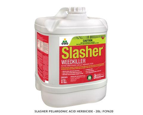 Slasher Pelargonic Acid Herbicide - 20L