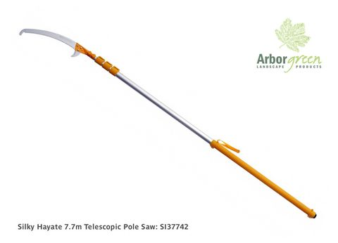 Silky Hayate 7.7m Telescopic Pole Saw